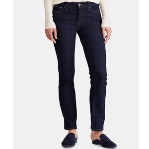 Ralph Lauren | Petite Modern Curvy Straight Jeans